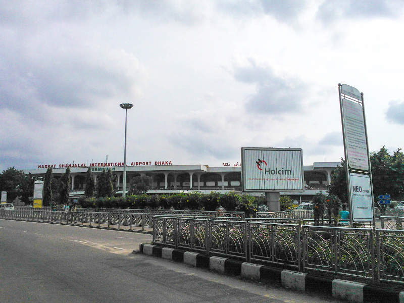 Hazrat Shahjalal International Airport was opened in 1980. Credit: Nahid Sultan / WikiCommons.