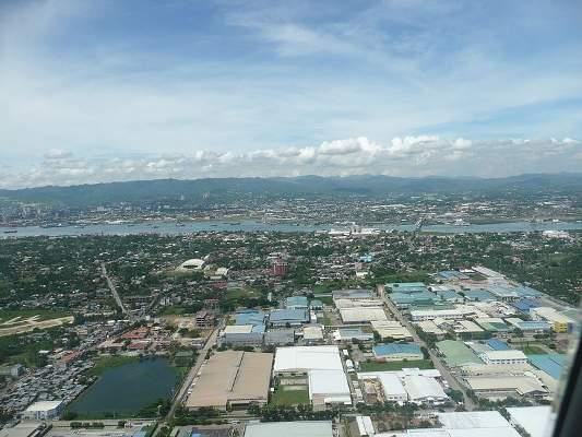 The Mactan-Cebu International Airport is located in Mactan Island. Credit: Lsj.