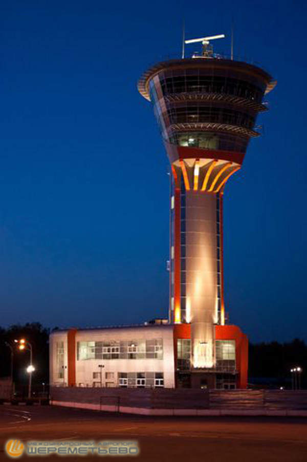 The Air Traffic Control Tower (ATC) at the airport was opened in February 2013. Image courtesy of Sheremetyevo International Airport.