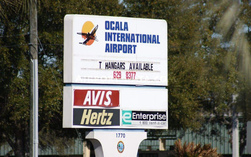 A total of 101 hangar units are available at the airport. Image courtesy of Florida Metal.