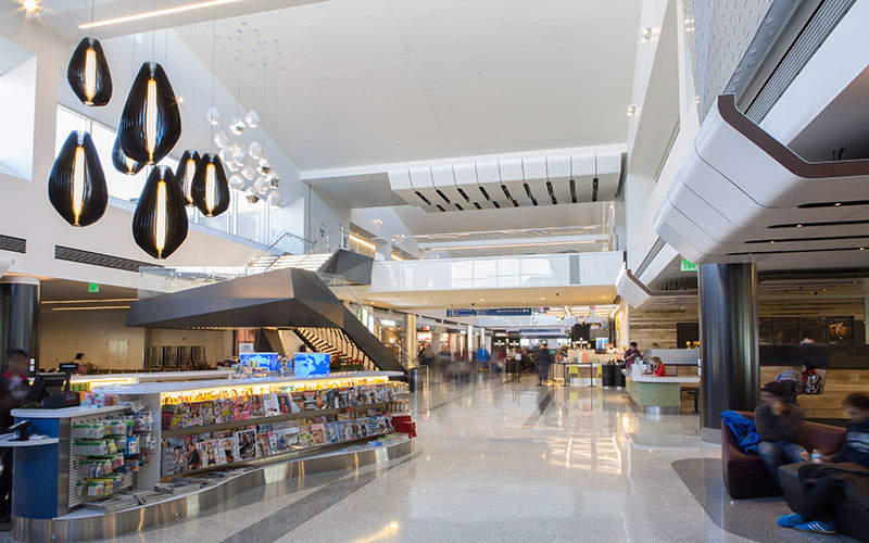 New retail and dining outlets have been added to Terminal 2. Image courtesy of Westfield.