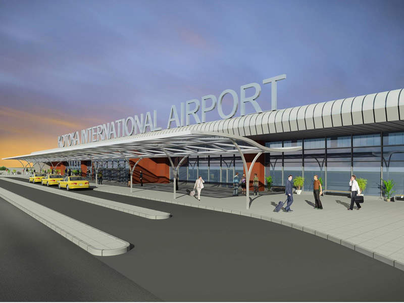 KIA's new terminal can accommodate up to five million passengers a year. Credit: Ghana Airports Company Limited (GACL).