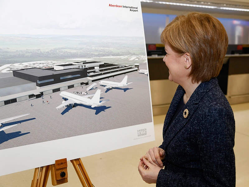The expansion will completely change the look of the terminal. Image: courtesy of the Scottish Government.