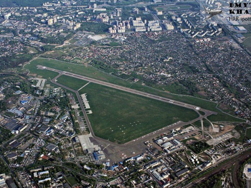 Igor Sikorsky Kyiv airport features a single runway. Image: courtesy of Kyiv International Airport.