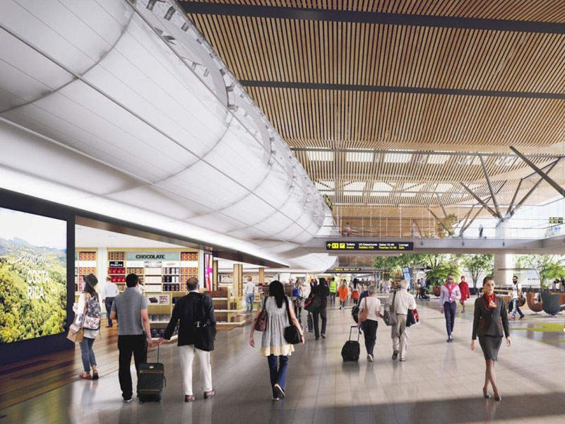 Phase one of Orotina Airport will have a 128,000m² passenger terminal.