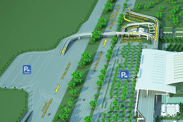The T2 was constructed to reduce the congestion at Terminal 1. Image courtesy of Airports Corporation of Vietnam.