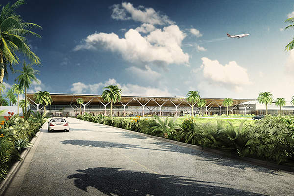 The modernised terminal was officially opened in June 2018. Image: courtesy of Nadi Airport.