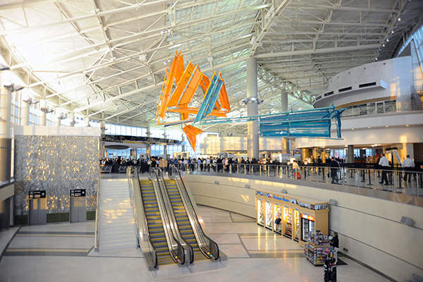 Corgan Associates is the lead architect for the new terminal. Image courtesy of Houston Airport System.