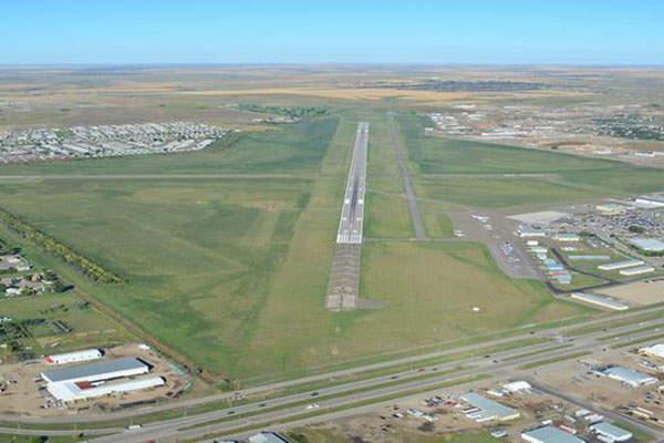 Williston Airport will be located in the centre of the Williston city. Image courtesy of Williston Economic Development.
