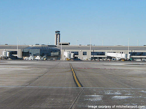 View of concourse D & Tower.