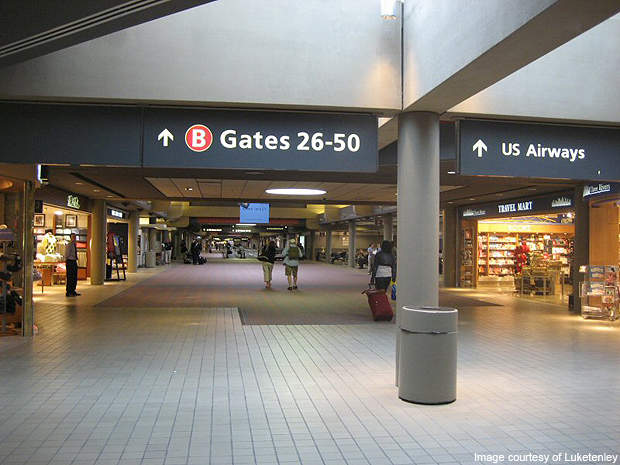 Pittsburgh International Concourse B.