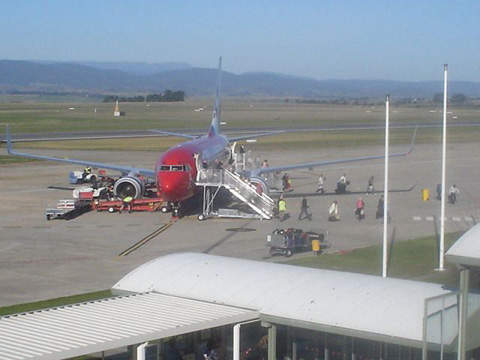Launceston Airport is one of two in Tasmania hosting one million passengers a year.