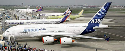 The airport will be able to host the new A380 if required.