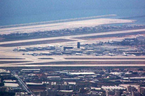 Beirut-Rafic Hariri International Airport has three runways, which were all damaged in the 2006 conflict but are now repaired.