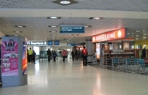 Birmingham International boasts easy access between its two terminals.