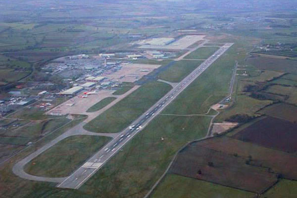 East Midlands Airport is about eight miles from the city of Derby and within 20 miles of Nottingham and Leicester.