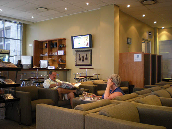 Lanseria international airport is referred to as the businessman's airport due to the availability of business class facilities. Image courtesy of Petrus Potgieter.