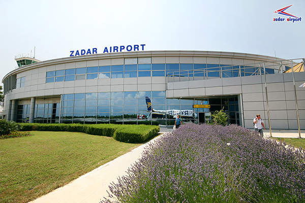 Passengers will be handled by the general and business terminal during the main terminal building reconstruction. Image courtesy of Zadar Airport.