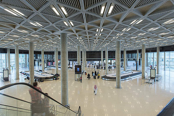 The new terminal construction is among the endeavours of the Jordanian Government to enhance tourism revenue. Image courtesy of Foster + Partners.