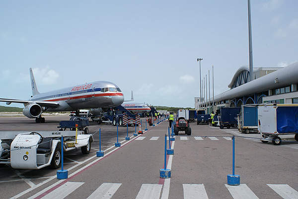 Providenciales International Airport has a 2,807m-long and 45m-wide runway. Image courtesy of Turks and Caicos Islands Airports Authority.