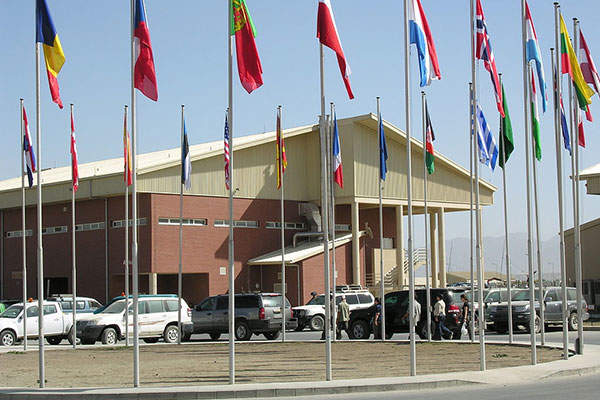 The southern part of the airport was handed over to the Afghanistan Government for civilian operations.