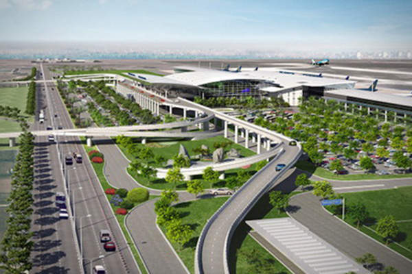 Design of the Long Thanh International Airport. Image courtesy of Đồng Nai Newspaper.