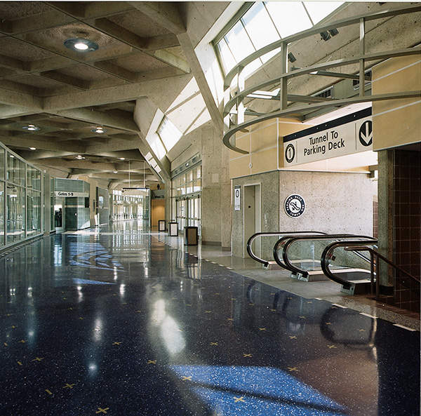 A terminal improvement project at the airport was completed in November 2004.