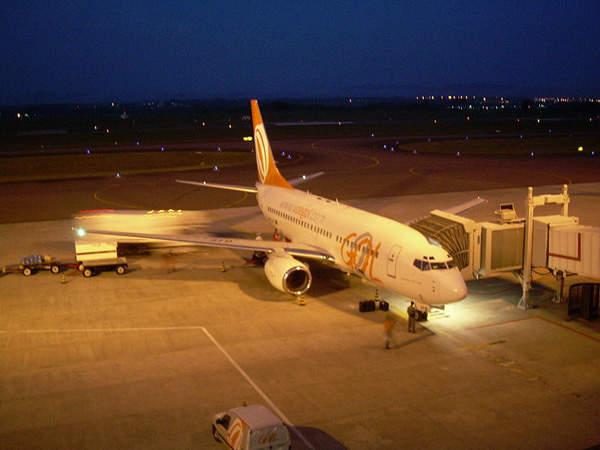 Afonso Pena International Airport has facilities to park up to 14 aircraft.