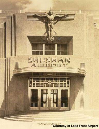 The Shushan Airport terminal building was spoiled in the 1960s by a featureless restoration.