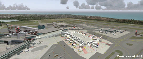By 2018 the airport is expected to handle 55 million passengers a year.