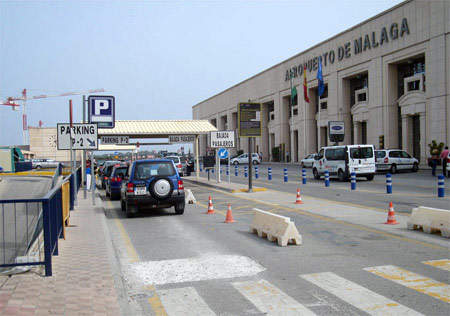 3,000 new parking spaces are planned for Malaga Airport.