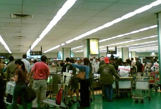 Ninoy Aquino International's Terminal 1 arrival area.