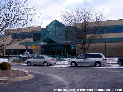 The passenger terminal has been improved since 2004 when Rockford Airport first achieved international status.