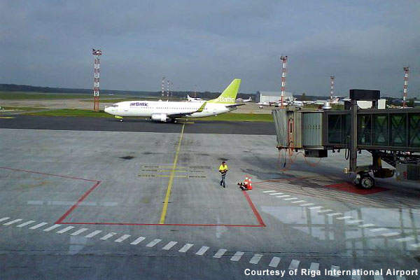 Riga Airport currently handles over three million passengers a year.