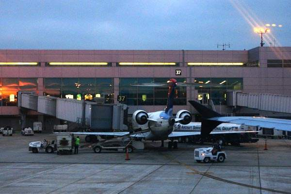 Phase one of the expansion involved construction of new parking spaces for overnight aircraft.