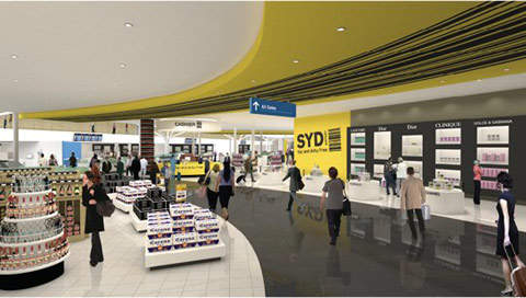 There will be 5,000m² of retail development in Sydney Airport.