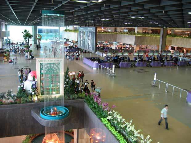 Changi Airport terminal 2 concourse.