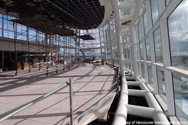 The second phase of the international terminal expansion should be completed by 2009.