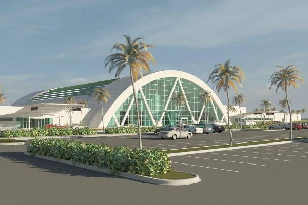 The design concept for the airport redevelopment was completed in March 2015.