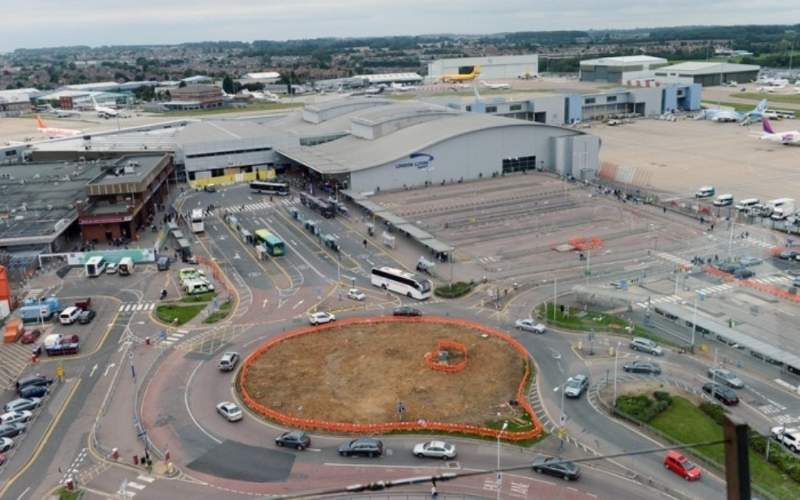 Ground transportation facilities at the airport are also being upgraded. Credit: London Luton Airport.