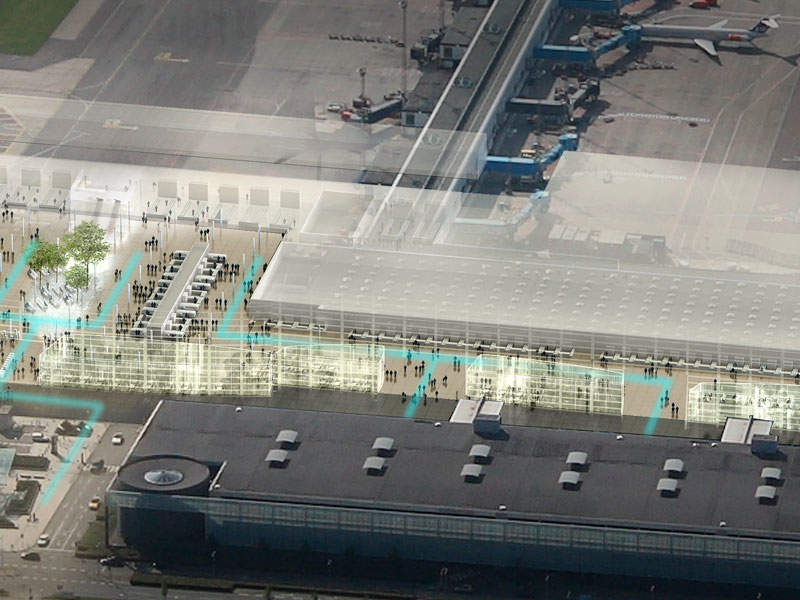 More shopping areas will be created to enhance passenger experience. Image courtesy of Københavns Lufthavne A/S.