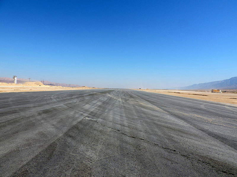 The airport's runway is 3,600m-long. Image: courtesy of Oyoyoy.