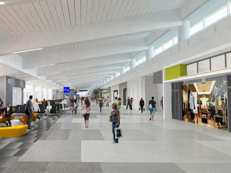 Phase two of the modernisation project will add new a new south concourse at Phoenix airport with 15 gates.