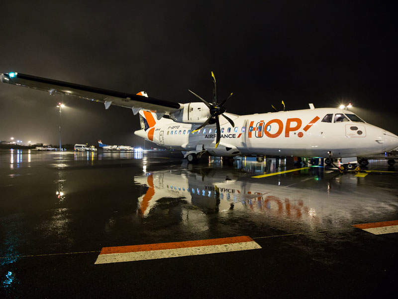 HOP Airlines, the new tenant at Lux Airport, offers services to Lyon, France. Image courtesy of Pulsa Pictures/lux-Airport.