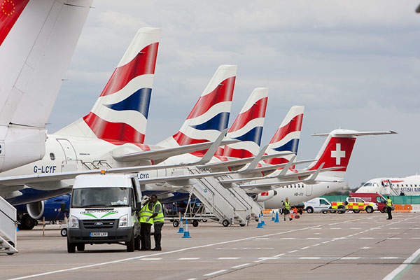 Seven additional aircraft parking stands will be created at the airport as part of the expansion programme. Image courtesy of London City Airport Ltd.