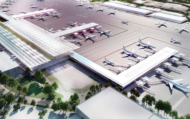 Terminal 2 will be expanded to become the primary building of the airport. Image courtesy of the Manchester Airports Group plc.