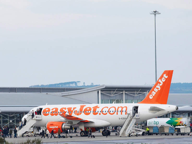 easyJet is one of the airlines operating at Inverness. Image courtesy of Highlands and Islands Airports Ltd (HIAL).