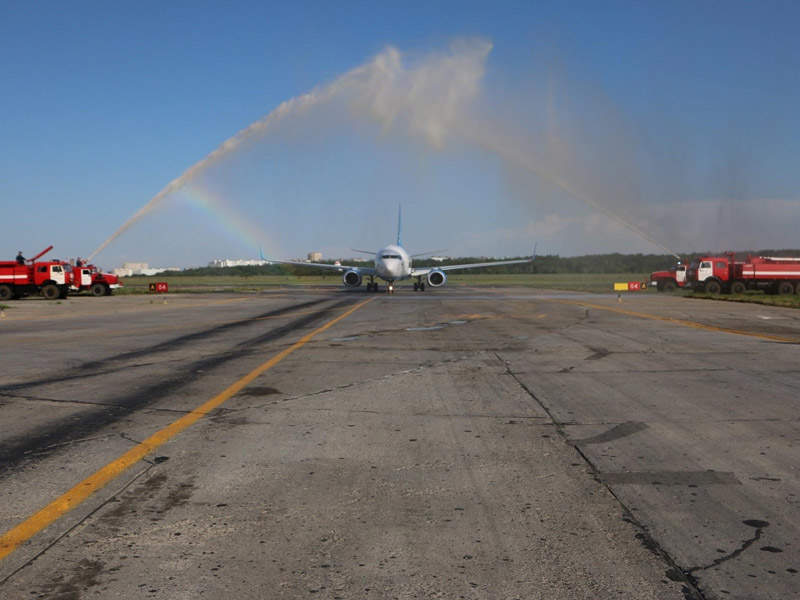 The airport features a single runway, which is 2,500m-long. Image: courtesy of Rostov-on-Don Airport.