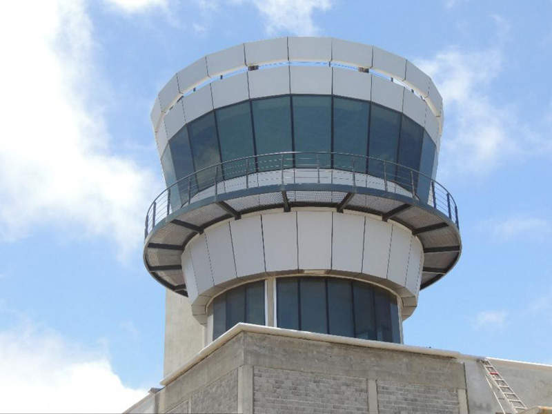 The air control tower (ATC) operations are controlled by Basil Read in partnership with Lanseria Airport. Image courtesy of SHG Access Office.