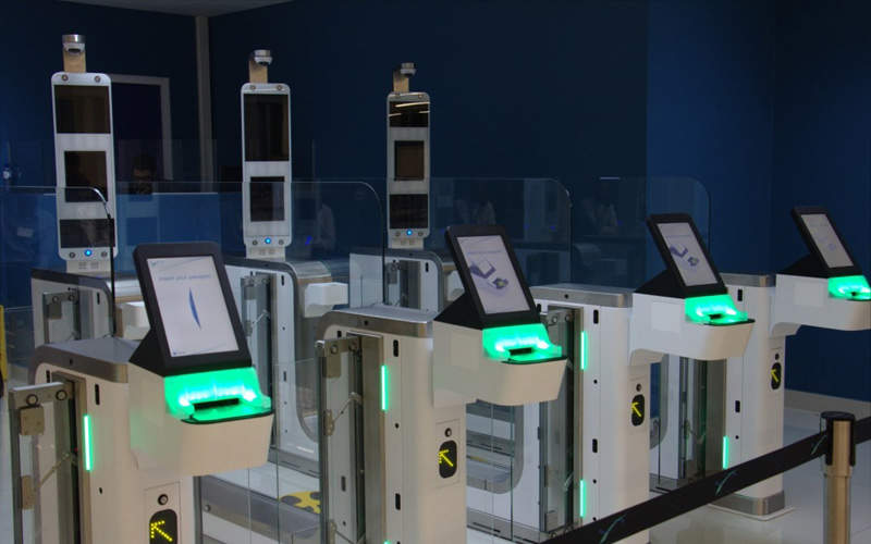 New integrated automated border control system was launched at the airport in 2016. Image courtesy of VISION-BOX.